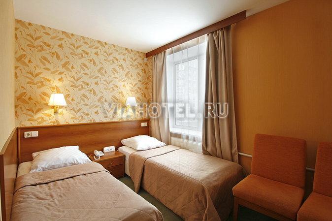 """Гостиница  """"Выборгская """" - трехзвездный отель,расположенный в..."""